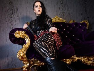 Picture of the sexy profile of MaitresseDonna, for a very hot webcam live show !